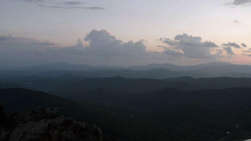 Still image from: Overview: How the Blue Ridge Mountains (Almost) Lost Their Blue