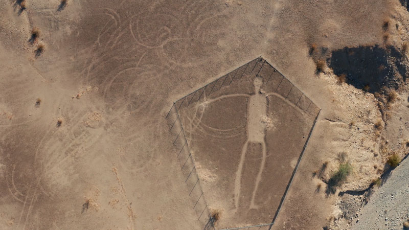 Still image from: Overview: Who Made These Giant Desert Figures...and Why?