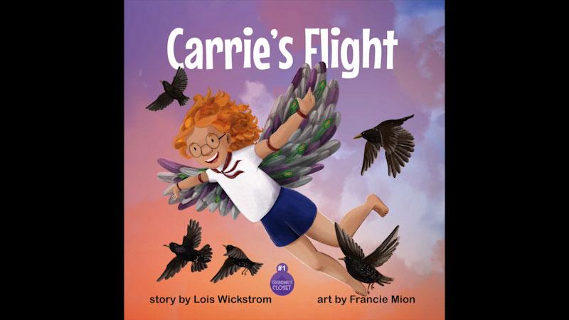 Still image from: Grandma's Closet: Carrie's Flight