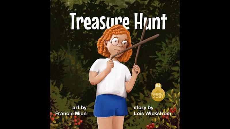 Still image from: Grandma's Closet: Treasure Hunt
