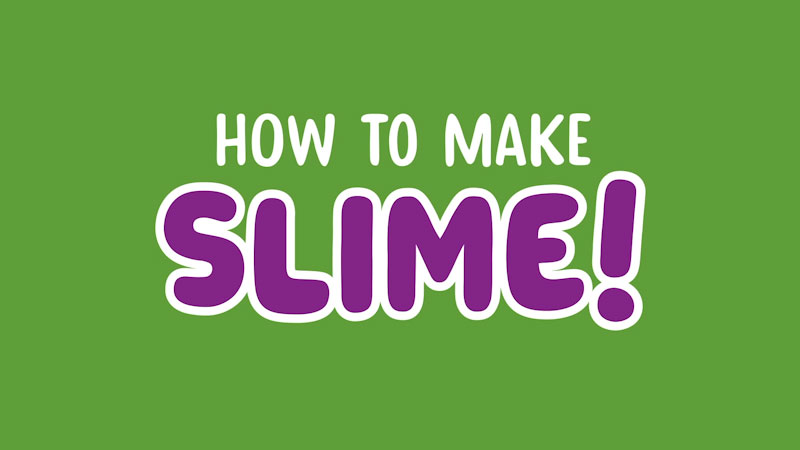 Still image from: How to Make Slime With Piper Maclane