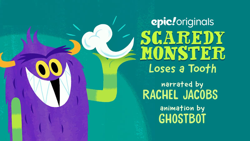 Still image from: Scaredy Monster Loses a Tooth
