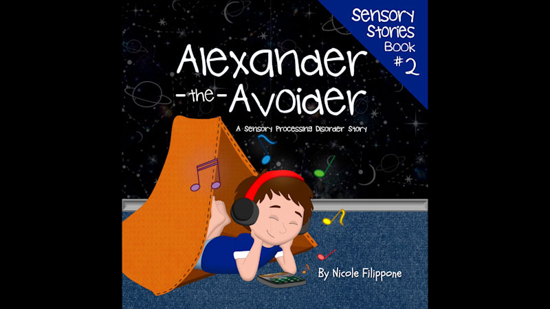Still image from: Alexander the Avoider: A Sensory Processing Disorder Story