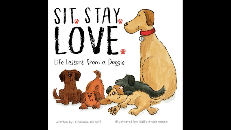 Still image from: Sit. Stay. Love. Life Lessons from a Doggie