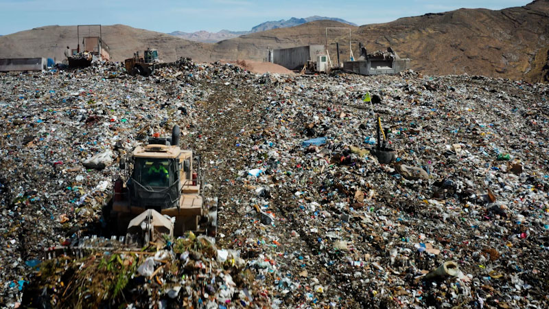 Still image from: Overview: How Five Billion Pounds of Las Vegas Garbage Powers a City