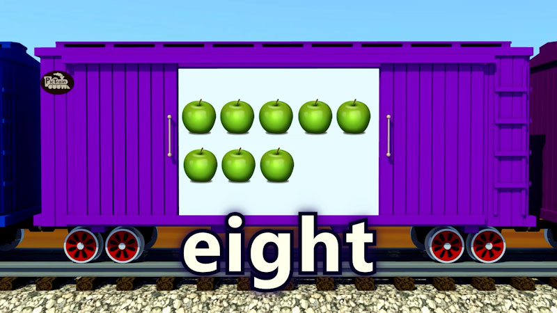 Still image from: PicTrain: Counting Apples