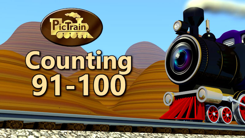 Still image from: PicTrain: Counting 91-100