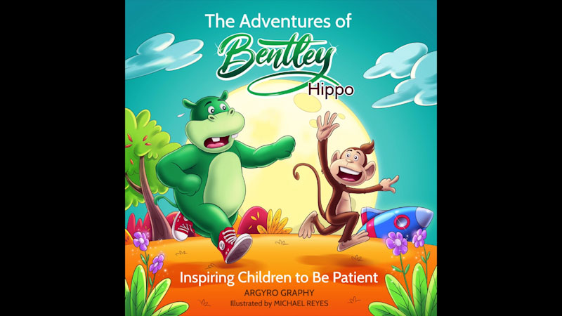 Still image from: The Adventures of Bentley Hippo: Inspiring Children to Be Patient