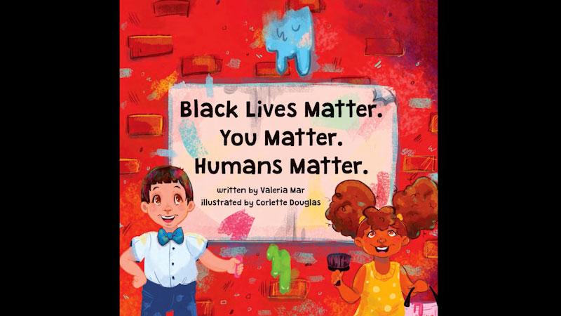Still image from: Black Lives Matter. You Matter. Humans Matter.