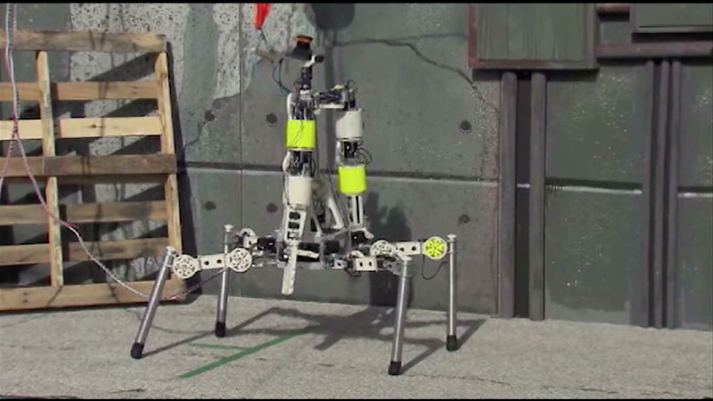 Still image from: Robotics: Challenges for the Future