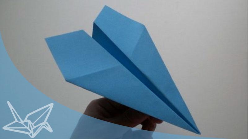 Still image from: Origami Super Plane