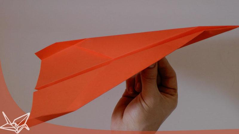 Still image from: Dart Paper Plane Instructions