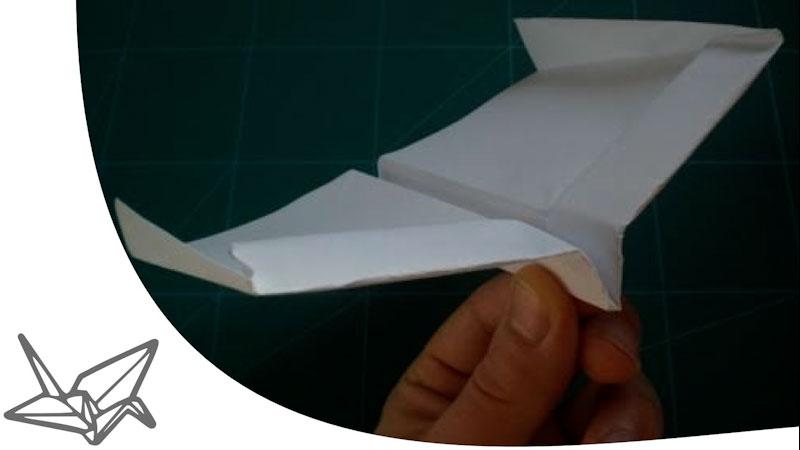 Still image from: World's Best Paper Plane