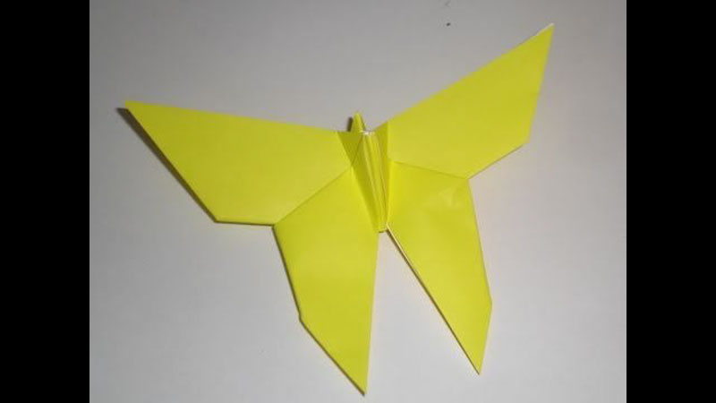 Still image from: Origami Butterfly