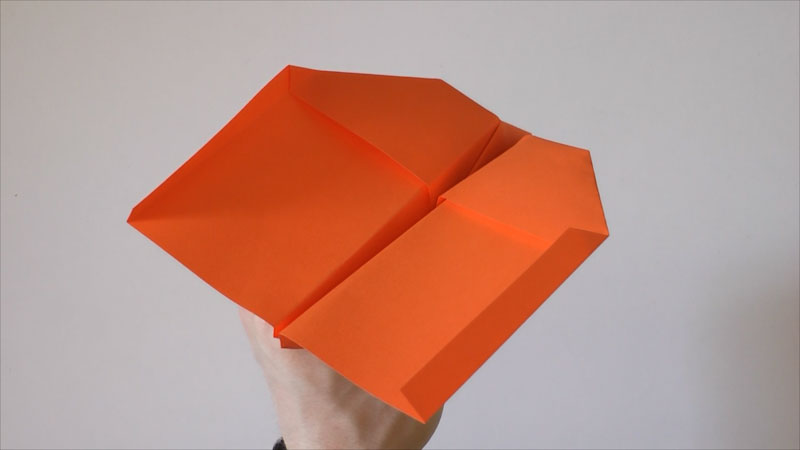 Still image from: Origami Swallow Paper Plane