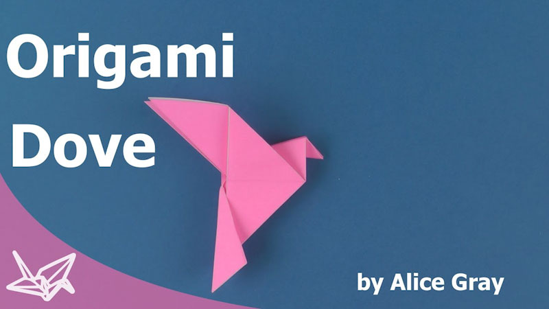 Still image from: Origami Peace Dove