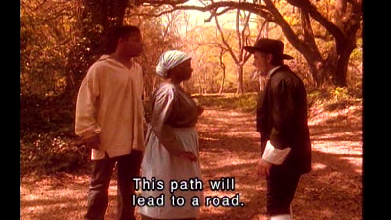 Still image from: The Quest for Freedom: The Harriet Tubman Story
