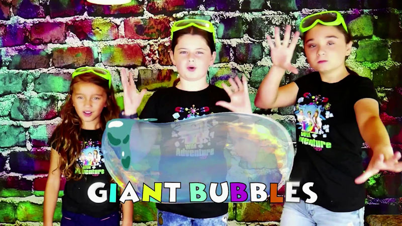Still image from: How to Make Giant Bubbles!