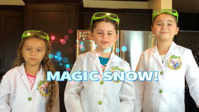 Still image from: How to Make Snow