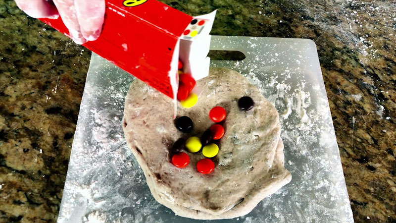 Still image from: Learn How to Make Edible Reese's Slime