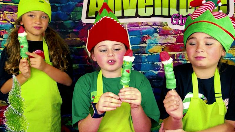 Still image from: Yummy Holiday Treats: Marshmallow Pops