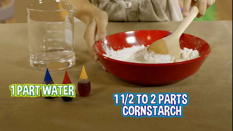 Still image from: Wild Explorers: How to Make Oobleck!