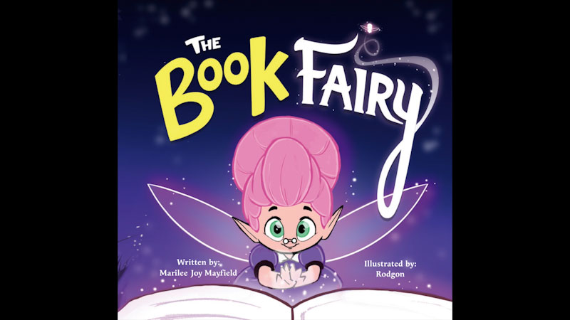 Still image from: The Book Fairy