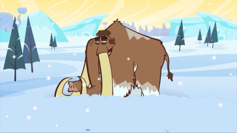 Still image from: I'm a Woolly Mammoth