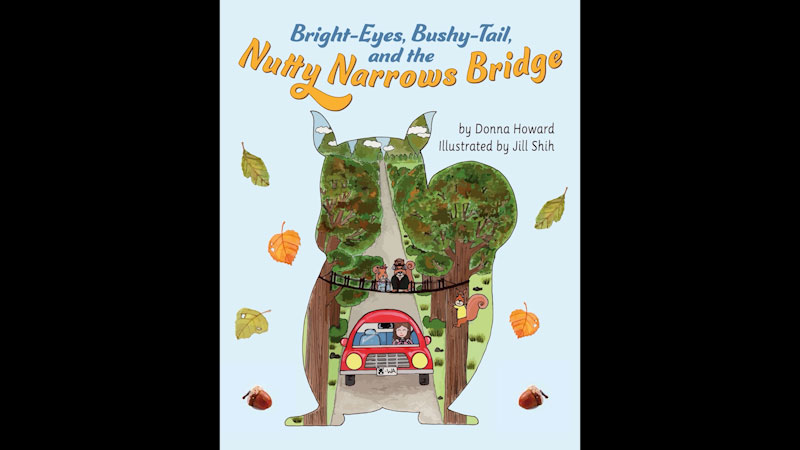Still image from: Bright-Eyes, Bushy-Tail, and the Nutty Narrows Bridge