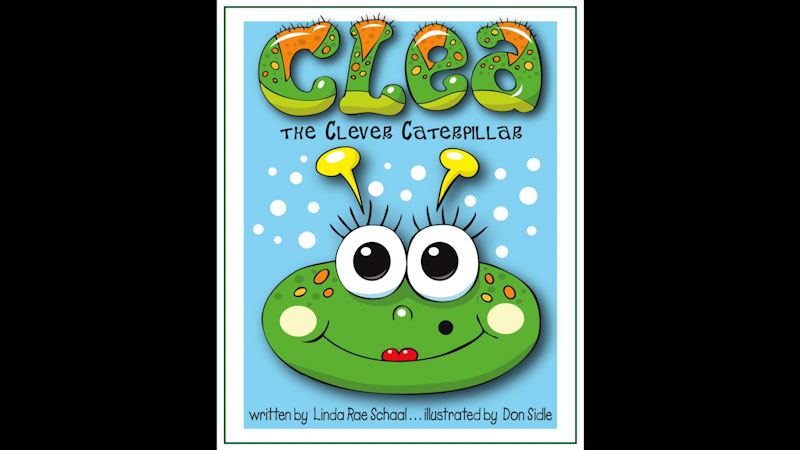 Still image from: Clea the Clever Caterpillar