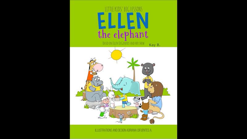 Still image from: Ellen the Elephant