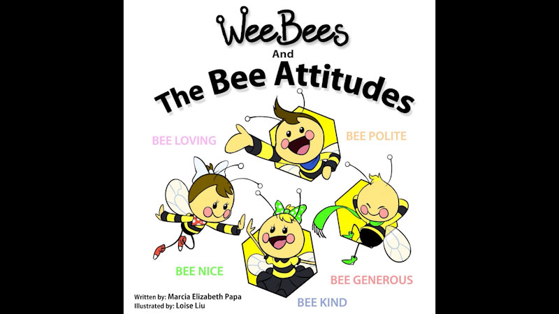 Still image from: Wee Bees and the Bee Attitudes