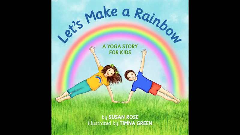 Still image from: Let's Make a Rainbow: A Yoga Story for Kids