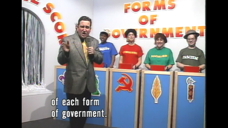 Still image from Forms Of Government: What's The Score?