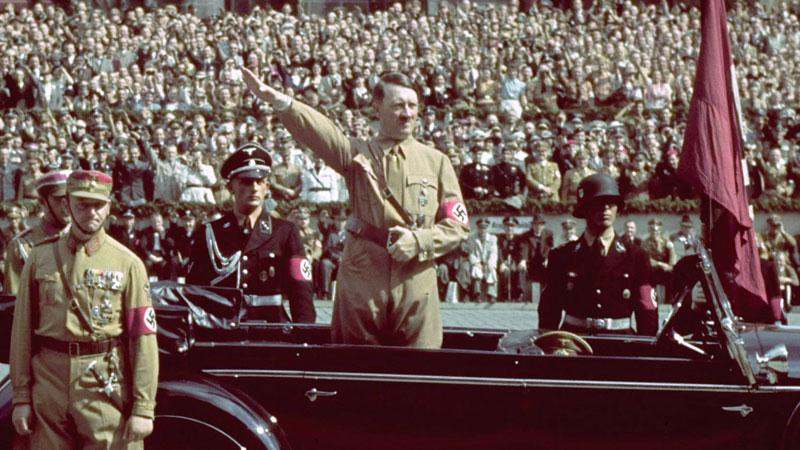 Still image from: Hitler