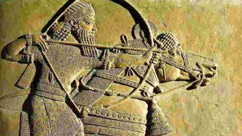 Still image from The Assyrians