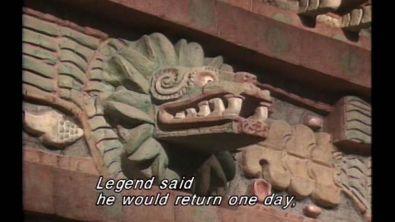 Still image from The Aztecs