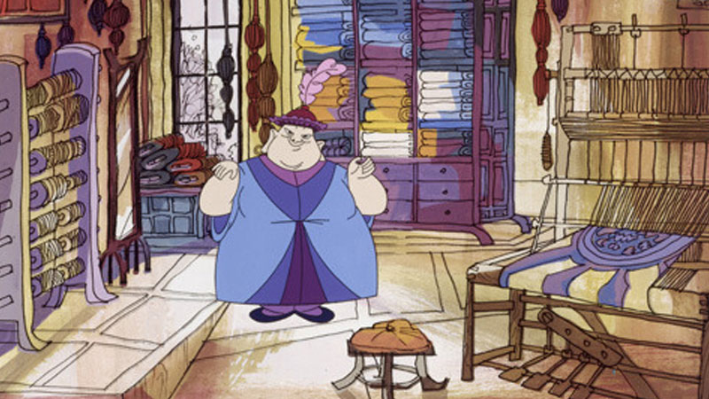 Still image from: The Emperor's New Clothes