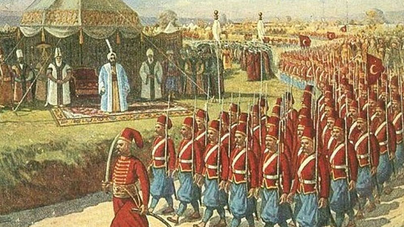 Still image from: The Janissaries
