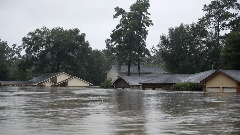 Still image from: Rain and Floods