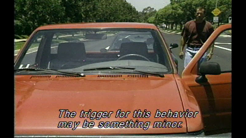 Still image from Road Rage And Aggressive Driving: A View From The Driver's Seat