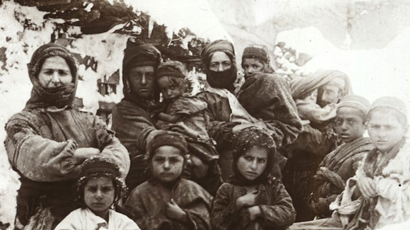 Still image from: The Armenian Genocide