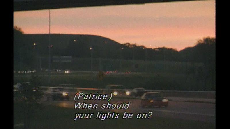Still image from Night Driving