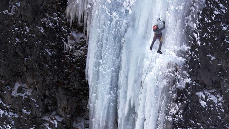 Still image from: Silent Climb