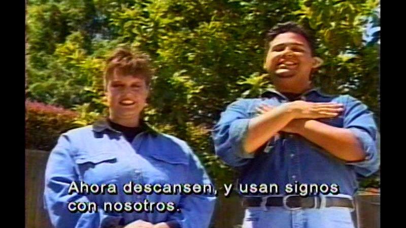 Still image from: Signing Fiesta 3 (Spanish)