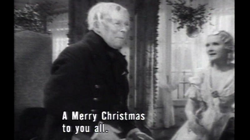 Still image from: Scrooge