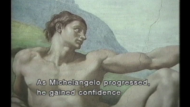 Still image from: The Art of Michelangelo