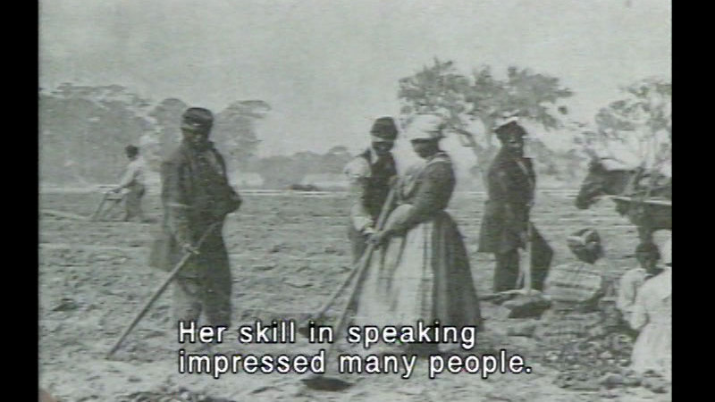 Still image from Black American History Series Volume 2: Slavery