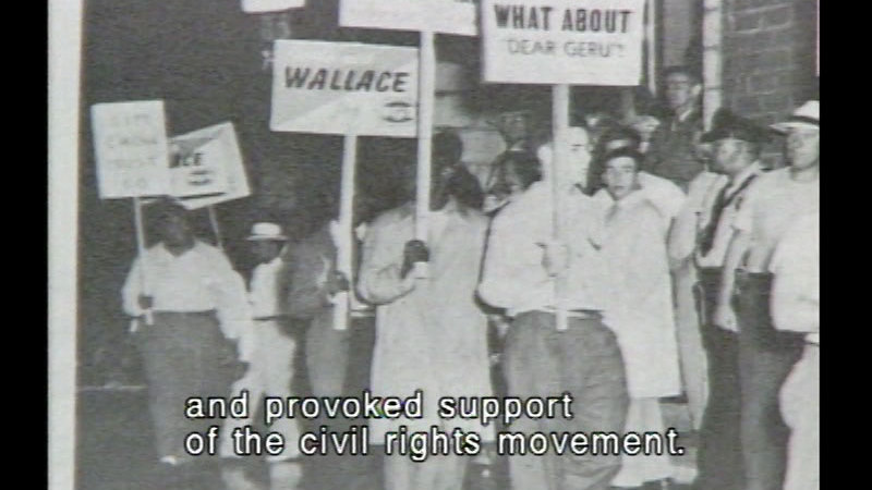 Still image from: Black American History Series Volume 4: Civil Rights