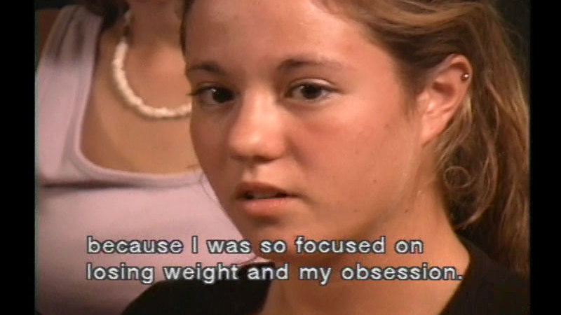 Still image from Body Talk: Teens Talk About Their Bodies, Eating Disorders & Activism